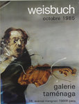 Poster   Weisbuch  Claude     Tamenaga  Gallery  October  1985