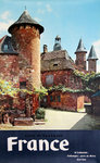 Affiche    Collonges    Correze    France  Photo  La Riviere  1957