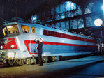 Photo   SNCF  V Robert  1960    TEE Electrique Gare du Nord    Loco Quadri- Courant  CC 40 100