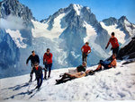 Photo    Chamonix   Alpes   Ski d'Ete 1960 SNCF   Fronval