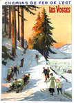 Eastern  French Railways Poster   Les Vosges   Louis Tauzin 1913