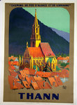 French  Railways Poster  Thann    Charles Alo  1926