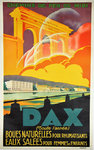 Poster Dax  French Railways  Anonymous Circa 1930