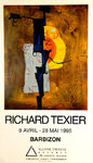 Poster Texier Richard   Suzanne Tarasieve  Gallery  April  May 1995