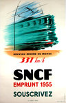 Original Poster   Emprunt SNCF  1955  Subscribe  Rousset