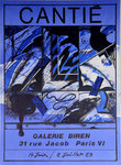Poster   Cantie Florence   Biren   Gallery July 1983