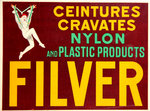 Affiche  D'Ylen  Jean  Filver   Nylon and Plastic  Products   1930