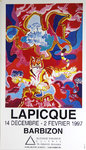 Poster   Lapicque  Charles   Suzanne Traversiere Gallery  1997