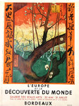 Poster  Europe and the Discovery of World  Print  Ukino-e  Nice Arts  Gallery  1956