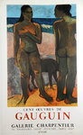 Poster  Gaugin Paul  100 Works of Gaugin  Charpentier  Gallery  1960