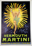 Poster  Vermouth Martini Leoneto  Cappiello  Reedition 1960