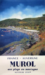 French Railways Poster   Murol Auvergne   1958