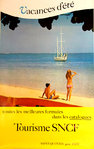 Poster  French  Railways Tourisme  Spring Holidays 1970