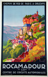 French Railways Poster  Rocamadour   Commarmond  1929