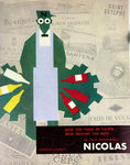 Poster  Nicolas Wine Un Choix Incomparable  1955