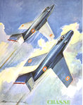 Poster   Air Force Aerial  Hunting   Paul  Lengelle   1950