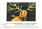 Poster   Ungerer  Tomi  Le Bestiaire          1998