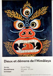Poster   Art of Buddhism Gods and Demons of the Himalayas  Grand Palais  1977
