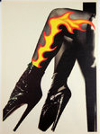 Poster   Shoes  Photograph   Thierry  Muggler   The Manipulator  1993