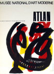 Affiche  Atlan  Jean Michel  Musee National D'Art Moderne