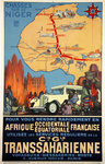 Poster   C G Transsaharienne  Jeanne Thill  Circa 1926/1929