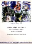 Affiche  Dufy  Raoul  Bibliotheque Nationale 1986