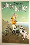 Poster Cycles Dedion - Bouton  F Fournery  1925
