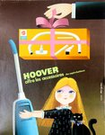 Affiche  Hoover  Alain Gauthier   Circa 1960