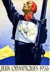 Poster  Olympic Games  Berlin    1936   Ludwic  Hohlwein