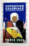 Affiche Exposition Coloniale Internationale Paris 1931 Desmeures
