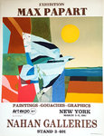 Affiche  Papart  Max  Nahan Galleries  Exhibition New York  1981