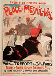 Poster  French Railways  Plage de Mesnil-Val  Grün   1910