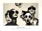 Poster  Ladies in Sunglasses  By John  Chan  1986  Details  Magazine  New York