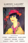 Poster  Tave  Georgette  CoCo Chanel  Garden Gallery  Nice  1979